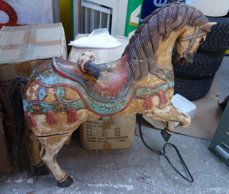Азиатская современная лошадка