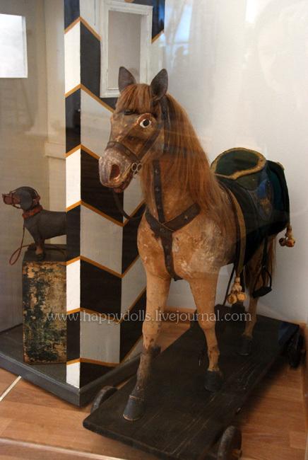 Конь из собрания Александровского  дворца