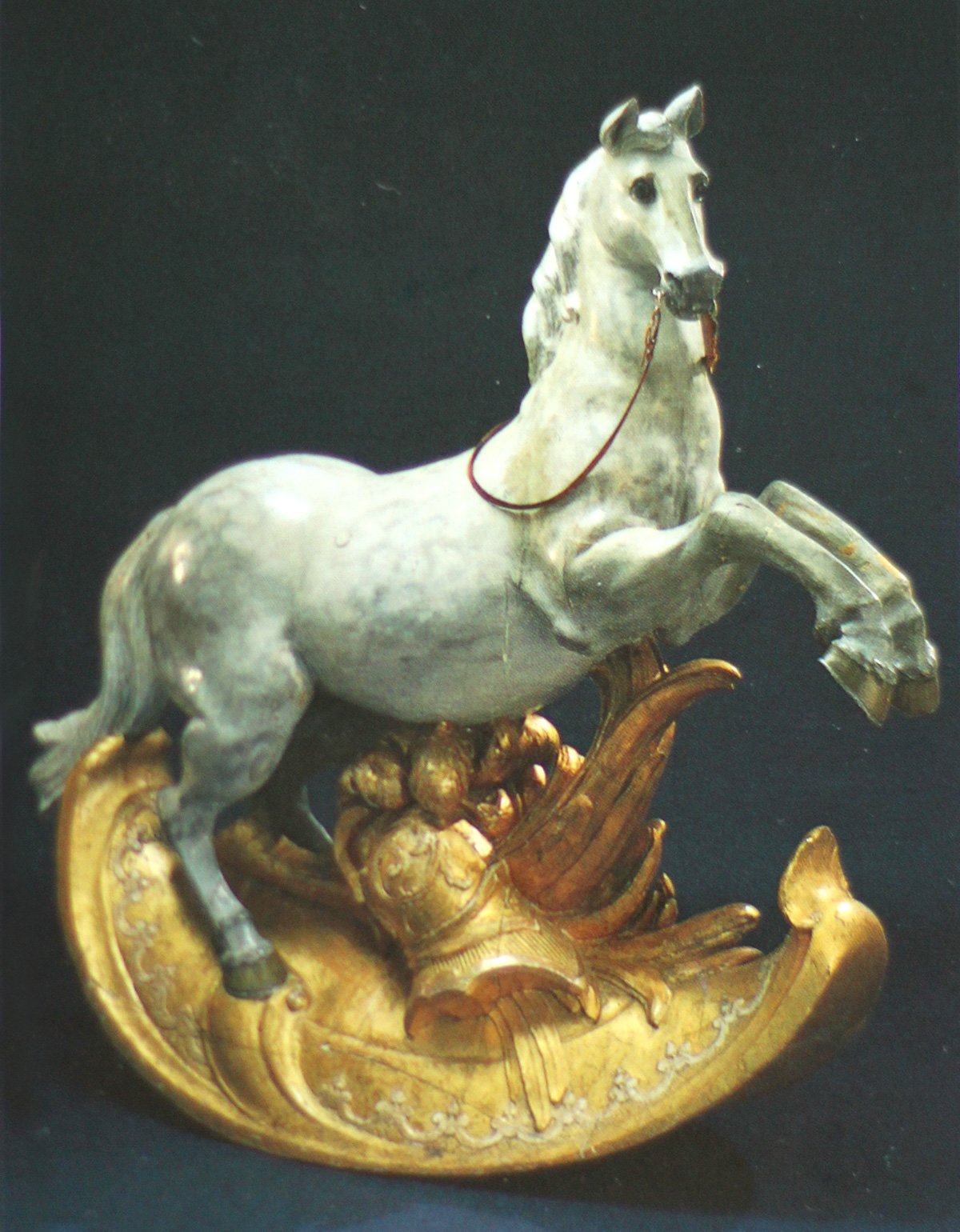 Лошадка Густава III, короля Швеци Horse, belonging to the Swedish King Gustavus III as a boy